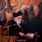شب سوم ایام شهادت امام حسن و حضرت رقیه سلام الله علیهما