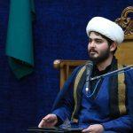 شب سوم عزای امام صادق علیه السلام وداع با پیکر شهید گمنام